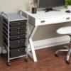 six drawer organizer in office