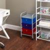 3 drawer cart and flipshelf