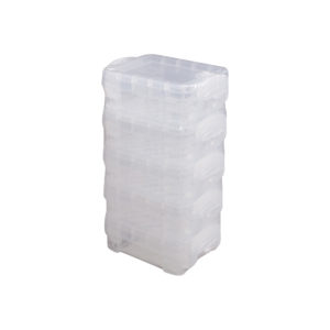 superstacker bitty box 5 pack clear