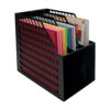 easy access paper holder horizontal
