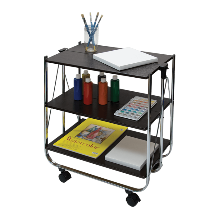 Innovative home organization solutions like the click-n-fold cart