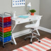 ten drawer organizer in home office