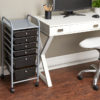 six drawer organizer in office
