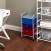 3 drawer cart and flipshelf