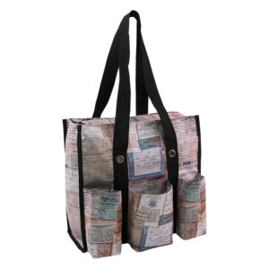 tim holtz shoulder storage tote